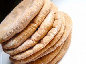 Stock up on whole wheat pita bread.