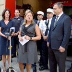"""""""Yours is truly a selfless profession,"""" said City Council Speaker Melissa Mark-Viverito."""