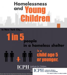 Recent reports have focused on homeless children.
