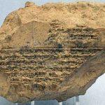 BabylonianSolar Eclipse Tablet listing eclipses between 518 and 465 BC.