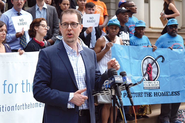 """""""The difference [is] a matterbetweenlife or death,"""" said Councilmember Mark Levine."""