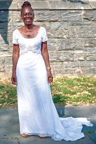 First Lady Chirlane McCray.