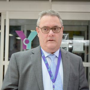 Martin Englisher is the Chief Executive Officer of the Y.