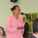 Cheryl Pahaham spoke of a brownfield remediation study.