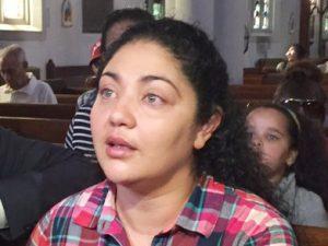 AmandaMorales-Guerra has taken sanctuary at Holyrood Church.