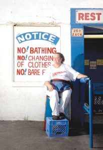 Arminda; Astroland Bathroom Attendant Photo: Robert & Robbie Bailey
