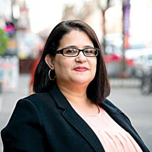 """""""I am proud to declare victory today,"""" said Diana Ayala."""