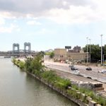 The waterfront park is 11 acres.