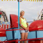 Astroland; Tilt-A-Whirl Woman Photo: Robert & Robbie Bailey