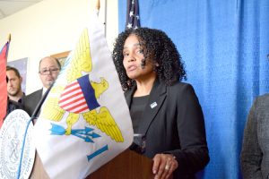Maria Lizardo, Executive Director of the Northern Manhattan Improvement Corporation (NMIC).