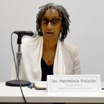"""""""Health doesn't just happen in a doctor's office,"""" said Deputy Mayor Dr. Herminia Palacio."""
