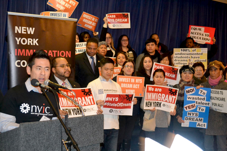 The New York Immigration Coalition (NYIC) is denouncing the cap.