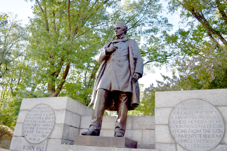 "Dr. James Marion Sims has been referred to as the ""father of modern gynecology."""