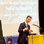 """""""We are a magnificent community,"""" said CouncilmemberYdanis Rodríguez."""