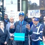 """I have been assaulted, I have been spit on,"" said Bus Operator James Fuller."