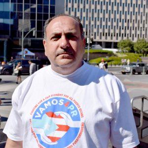 """""""We're not sure we believe the president,"""" said VAMOS4PR Advocate José Piñeiro."""