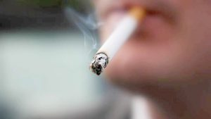 Smoking rates are higher for U.S.-born Latinos.