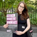 """""""It seems like such a basic human rights issue,"""" said rally attendeeJessica Luck."""