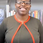 Countee Cullen Branch Manager Nicole Nelson.
