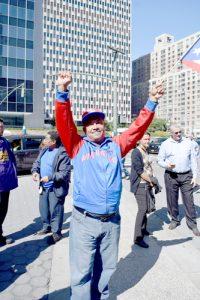 """It's a big catastrophe,"" said Santos Ruiz."