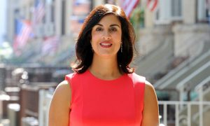 Republican challenger Nicole Malliotakis.