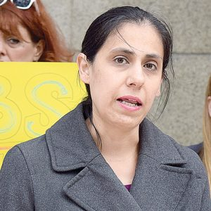 """This is not right,"" said Andrea Saenz, Supervising Attorney at Brooklyn Defender Services."