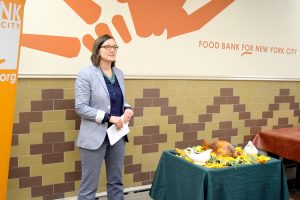 """The work that we do here is very necessary,"" said Seana Weaver, Director of the Community Kitchen and Food Pantry."