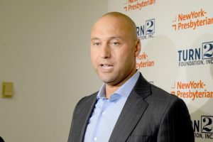 """My goal when I retired was to have a legacy off of the field,"" said Jeter."
