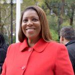 Public Advocate Letitia James.
