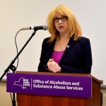 Assemblymember Linda Rosenthal attended.