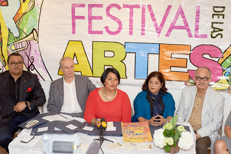 Organizers spoke about the festival.
