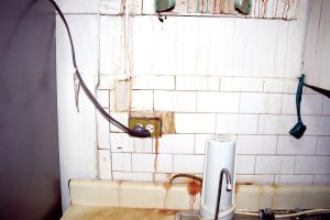 Ortiz said she has also experienced sewage seeping into her kitchen sink.