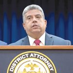 """""""We will seek to hold him accountable,"""" said Acting Brooklyn District Attorney Eric González."""