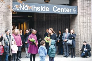 Kate Middleton, The Duchess of Cambridge (right), visited the Northside Center with First Lady Chirlane McCray in 2014.
