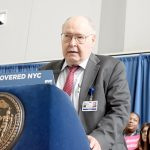 Stanley Brezinoff, CEO of NYC Health + Hospitals,hailed the legislation.