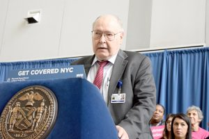 Stanley Brezinoff, CEO of NYC Health + Hospitals, hailed the legislation.