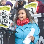 """""""It is way past the time to do what is right,"""" said Bianca Cunningham."""