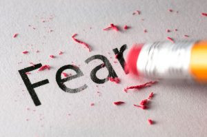 Fear is essentially a signal of anticipation from our brains.