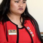 """We need large-scale decision making,"" argued community organizer Monique Manalang Ruiz."