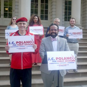 J.C. Polanco had hoped to unseat James.