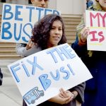 """Buses are slow, they're unreliable,"" said community organizer Stephanie Burgos-Veras."