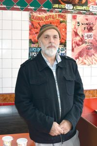 """We're waiting for the Health Department to come and tell us we can reopen,"" said Nader Kabeer, owner of the Kennedy Chicken & Gyro. Photo: G. McQueen"
