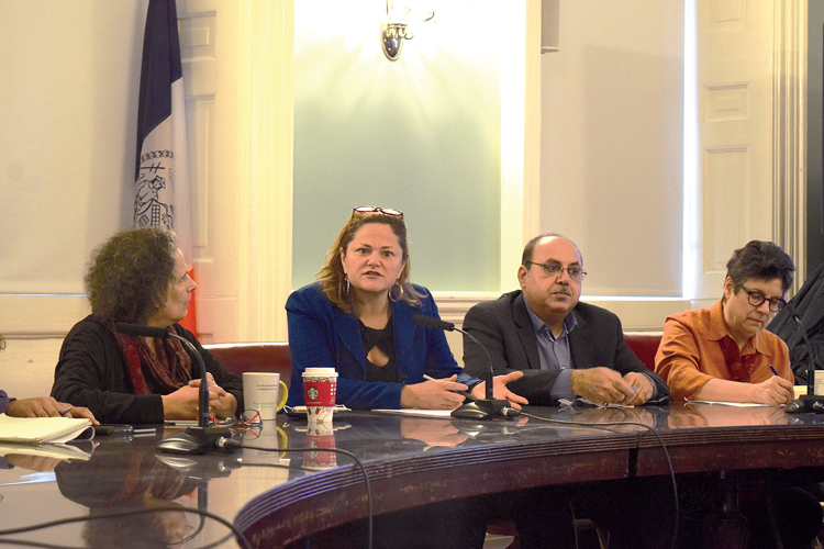"""""""We've had an aggressive legislative agenda,"""" said City Council Speaker Melissa Mark-Viverito."""