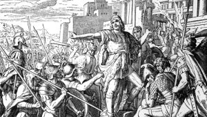 The revolt of the Maccabees.