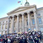 Advocates gathered en masse.