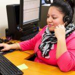 The hotline provides live assistance.