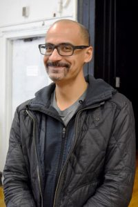 """I was young when I started using art as my sort of haven,"" said author Junot Díaz."