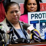 """""""We need to have a permanent solution,"""" said TPS recipient Minda Hernández."""