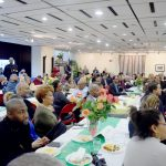 The breakfast was held at the Adam Clayton Powell State Office.