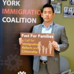 """""""New York State must reclaim a leadership role in protecting immigrants,"""" said NYIC's Steven Choi."""
